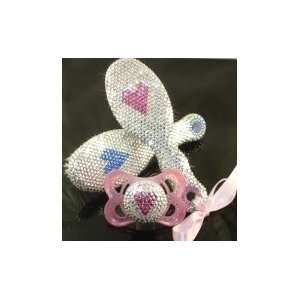 Baby Posh, LLC.   Baby Keepsake Brush with Swarovski® Rhinestones