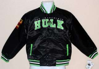 INCREDIBLE HULK Marvel Comics Superhero Kids YOUTH VARSITY LETTERMAN