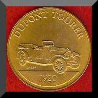 Franklin Mint Antique Car Token 1920 DUPONT TOURER
