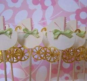Baby Shower Decoration Baby Cupcake Picks
