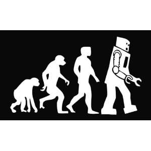 Big Bang Theory Sheldon Evolution Vinyl Die Cut Decal Sticker 6.75