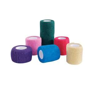 Top Performance Pet Dog Bandaging Tape Wrap 4 Purple
