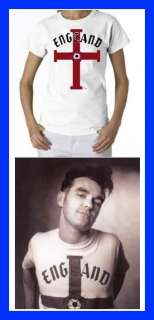 MORRISSEY ENGLAND SMITHS LADIES T SHIRT 80S NEW rock
