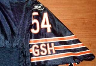 Brian Urlacher Chicago Bears Jersey 3XL Navy NFL