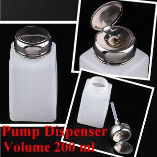 2pc Pump Dispenser Bottle Nail Art Makeup Tool J0212 2