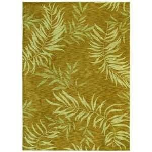 Shaw Tommy Bahama Home Nylon Florist Greens Gold 27700 2 6 X 7 9