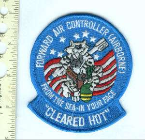 Military Patch F 14 Tomcat Forward Air Controller FAC