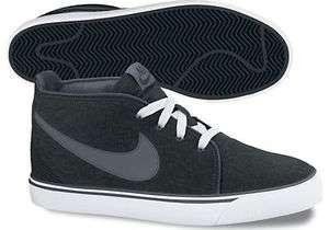 Nike Toki Canvas Black/White/Dark Grey 446336 090 Sz 9   12