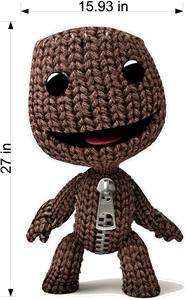 Little Big Planet Sackboy ps3 Fathead sticker poster