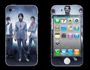 JONAS BROTHERS Band custom iPhone 4 Decal Skin vinyl