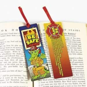 Cardboard Fire Prevention Bookmark Toys & Games