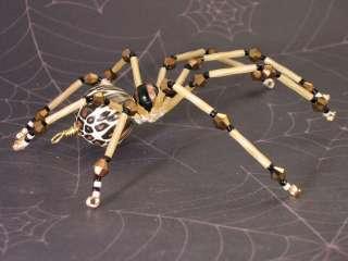Spring Garden Spider Beaded Tarantula Mothers Day Gift Lampwork