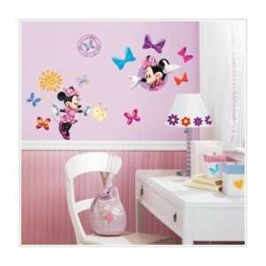 MINNIE MOUSE Bow Tique 33 BiG Wall Stickers Bow tique Room Decor