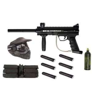 NEW BT BT 4 COMBAT E FRAME PAINTBALL MARKER PACKAGE 3