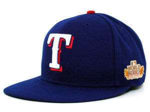 Texas Rangers 2011 New Era 59Fifty MLB World Series Patch Cap IN STOCK