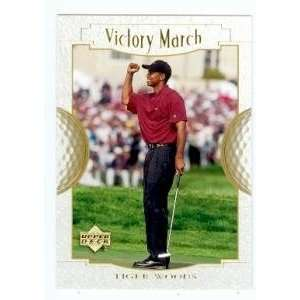 Tiger Woods golf card 2001 Upper Deck #151 Sports