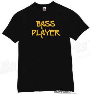 BASS PLAYER T SHIRT ROCK MUSIC BAND MUSICIAN TEE BK XXL