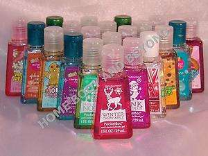BATH & AND BODY WORKS Pocketbac Hand Gel You Choose Scent
