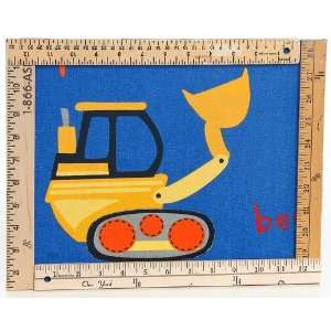 Road Trip Wall Hanging   Big Rig with Rulers Baby