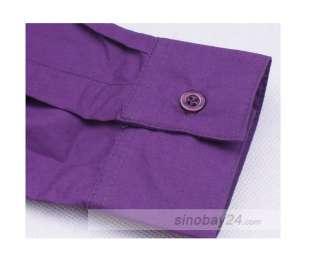 C83002 Mens Casual Shirts Dress shirt Long Sleeve