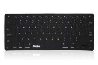 OSAKA BLACK Silicone Keyboard Cover Skin for Macbook Pro 13 15 17