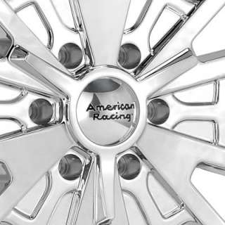 American Racing Authentic Hot Rod El Rey Chrome Plated