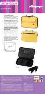 Oliepops Yellow Netbook Case Bag fit 8.9   10.2 inch
