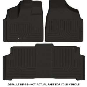 Husky Liners Custom Fit Front and Second Seat Floor Liner Set