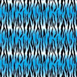 TIGER STRIPE BLUE & BLACK PATTERN Vinyl Decal Sheets 12x12 x 3 Great