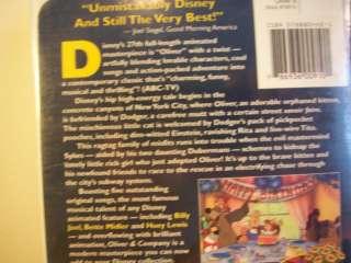 WALT DISNEY OLIVER & COMPANY Childrens VHS Tape Cool 786936009101