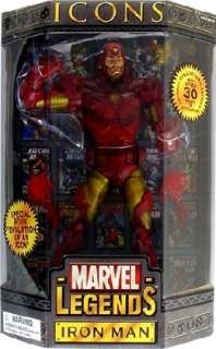 IRON MAN 12 Inch Marvel Legends Icons AVENGERS