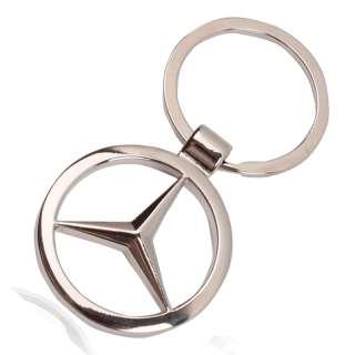 New Mercedes BENZ Logo style car keyring keychain LK