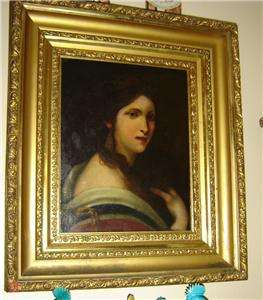 CIRCA LATE 18TH CENTURY OR EARLY 19TH CENTURY,PORTRAIT OIL PAINTING