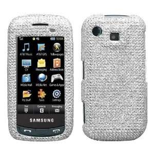 Phone Silver Full Diamond Crystals Bling Protective Case Cover Cell