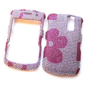 Case Rhinestone Cover Pink Flowers Design Cell Phones & Accessories