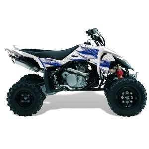 AMR Racing Suzuki LTR 450 2005 2011 ATV Quad Graphic Kit  Tribal Flame