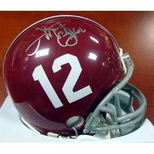 Terrence Cody Autographed Alabama Mini Helmet PSA/DNA RookieGraph