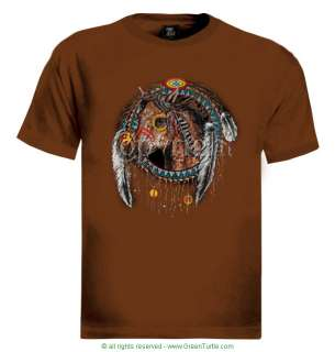 Horse Dream Catcher T Shirt indian american native