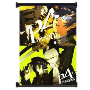 Shin Megami Tensei Persona 4 Game Fabric Wall Scroll Poster (32x42