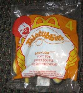 2000 Teletubbies McDonalds Happy Meal Toy Laa Laa #4