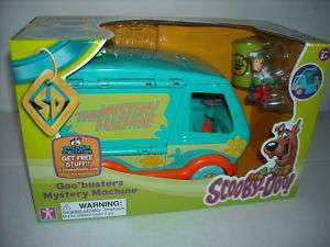 NEW SCOOBY DOO GOO BUSTERS MYSTERY MACHINE