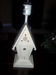 BIRDHOUSE LAMP BASE~CUTE LAMP FOR A GIRLS ROOM OR NURSERY~NEW~