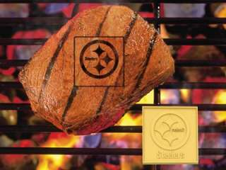 Pittsburgh Steelers Logo BBQ Grill Meat Branding Iron