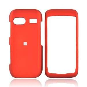 For LG VU PLUS GR700 Rubberized Hard Case Cover ORANGE