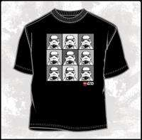 Star Wars LEGO Stormtroopers Block Party T Shirt, NEW