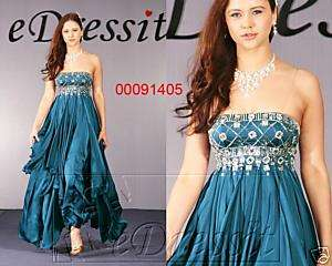 NEWeDressit Satin Evening Dress Ball Prom Gown UK 12