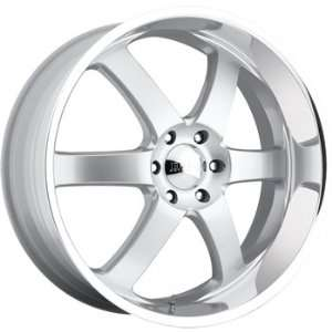 Boss 330 22x9 Silver Wheel / Rim 6x115 with a 32mm Offset and a 82.80