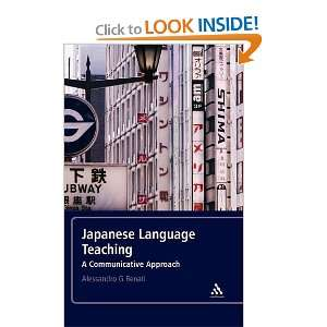 Japanese Language Teaching: A Communicative Approach