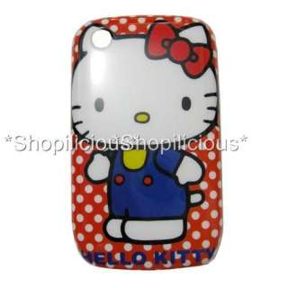 HELLO KITTY HARD CASE BACK COVER(BLACKBERRY CURVE 8520/8530/9300/9330