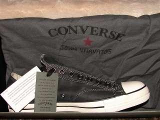 John Varvatos ~ Converse ~ALL STAR LEATHER SLIP MENS 10